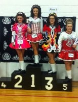 Katie's (right) first feis