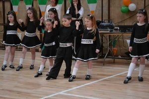 Sé at his first class feis