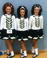 Katie at a feis
